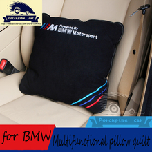 Multifunctional pillow quilt Car seat Cover Office Chair Lumbar Back Brace for BMW M e46,e39,e90,e36,e60,f30,f10,x5 e53,e34,e30(China (Mainland))