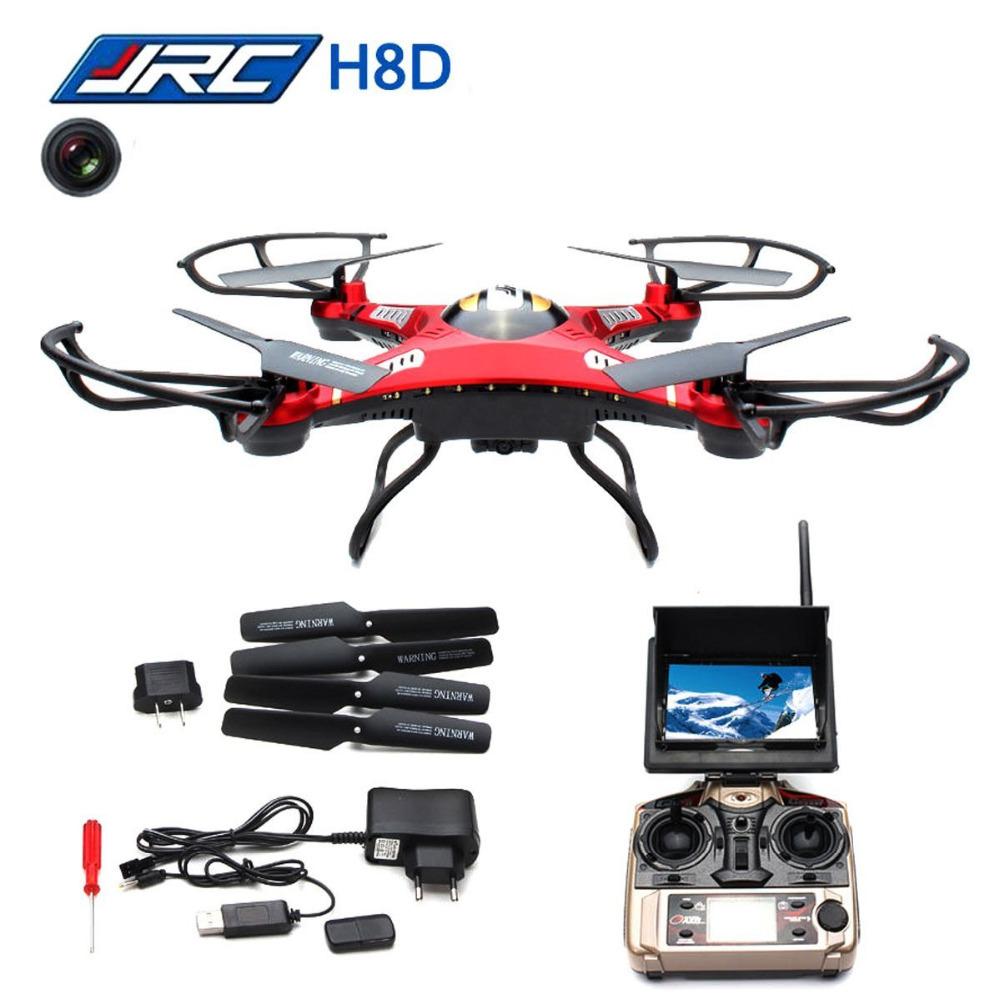 JJRC H8D 4CH 360 Flips One-key-return 2.4GHz RC Quadcopter w 2MP FPV 5.8GHz Camera Headless Mode RTF <br><br>Aliexpress