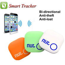 Nut 2 Nut2 Smart Home Anti Lost Bluetooth Tracker with Alarm and Locator Sensor as Key Finder in Wallets or Cars White