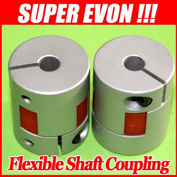 3pcs/lot 6.35x8mm Plum shaft coupling motor shaft coupler stepper motor coupler D20 L30 F004#3A(China (Mainland))