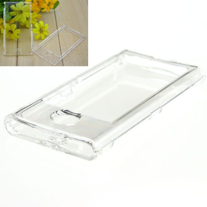 Scolour Amaing New Crystal clear Hard Case Cover For iPod Nano 7 Accessory 7G 7th Gen Hot(China (Mainland))