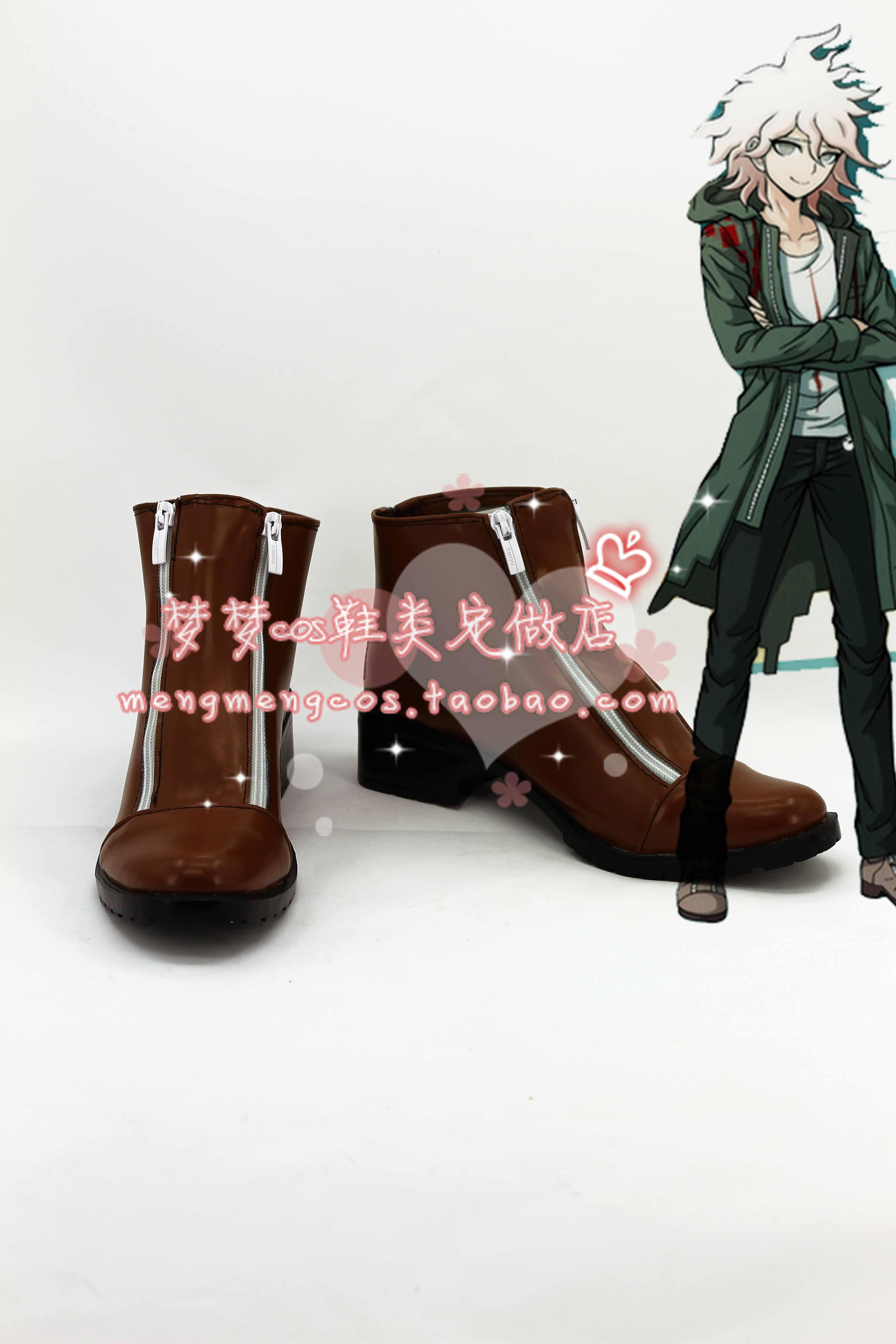 Danganronpa Dangan-Ronpa Nagito Komaeda Cosplay boots shoes<br><br>Aliexpress