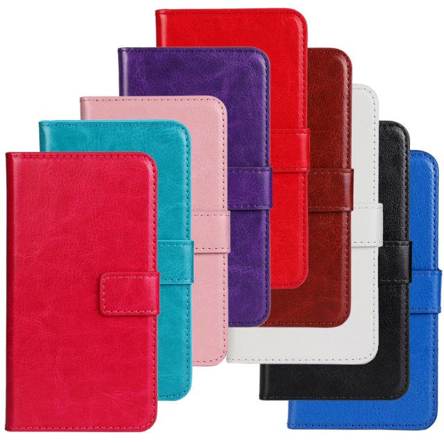 Retro Luxury Crazy Horse Flip Leather Wallet Case Folio Vintage Cover Accessories Card Slot Stand Motorola Moto X - Quella Store store
