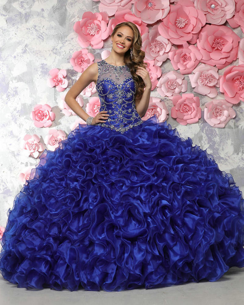 Popular Blue Sweet 15 Dresses-Buy Cheap Blue Sweet 15 ...