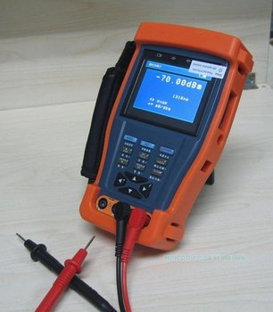 "Free Shipping!!3.5"" Digital multimeter/Optical power meter CCTV tester"