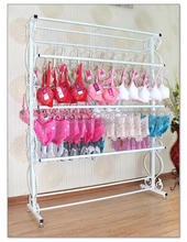 wearing lingerie display console