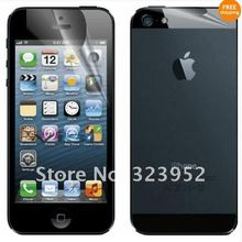 Free Shipping 200pcs/lot Front & Back Anti-Glare Matte LCD Screen Protector Film For iphone 5