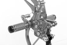 Rearsets CNC Adjustable Rear set Foot pegs SUZUKI SV650S SV 650S Titanium color - Motorcycle part home store