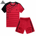 2017 Men Sports Survetement Football Training Suits Adult Soccer Jerseys Sets Breathable Futbol Jersey Tracksuit DIY