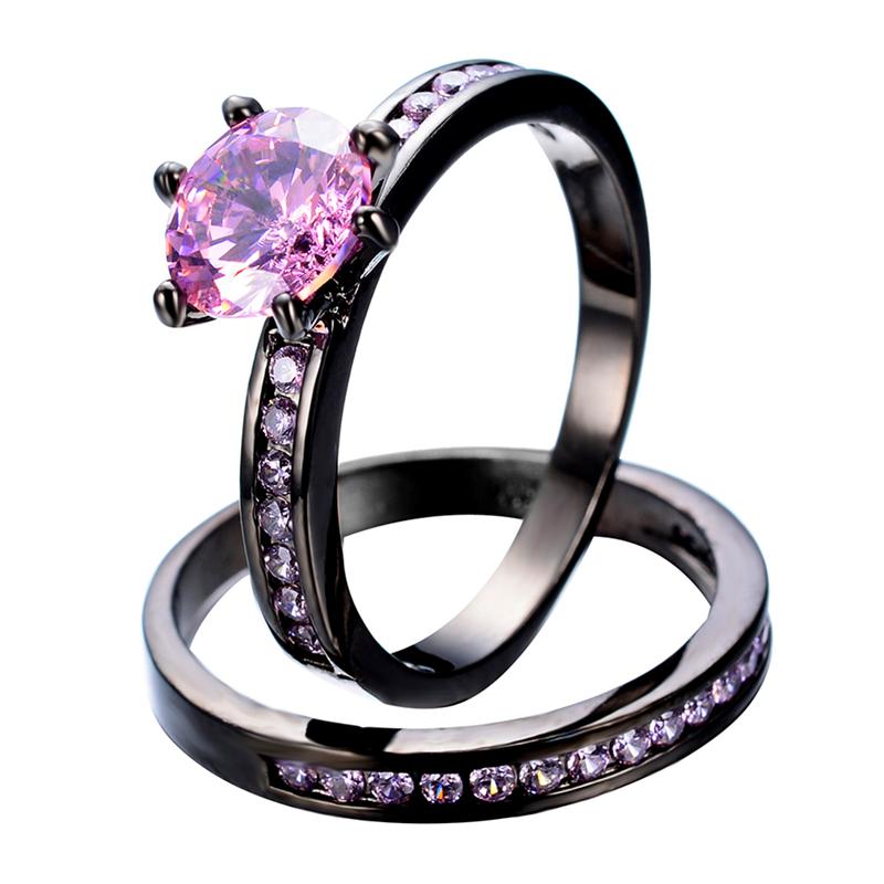 get cheap pink sapphire ring aliexpress