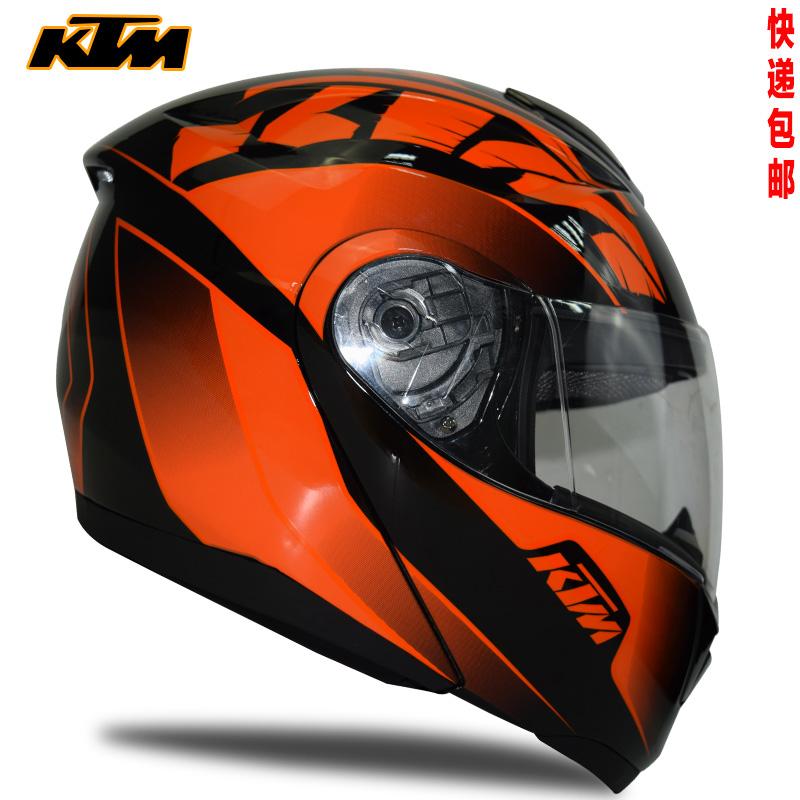 Full coverage of exposing the surface helmet KTM 4 season Double lens professional motorcycle motorcross helmets(China (Mainland))