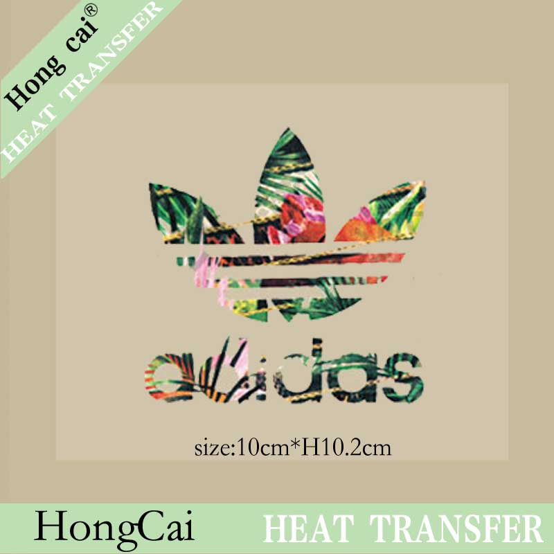 HongCai Iron on patch Trademark logo brand A level washable patches for clothing T shirt Thermal Transfer Printing Paper(China (Mainland))
