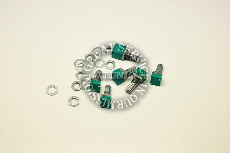 commonly-used 6kind * 1pcs = 6pcs 09 seal type single and double potentiometer/adjustable resistance package assorted kit(China (Mainland))