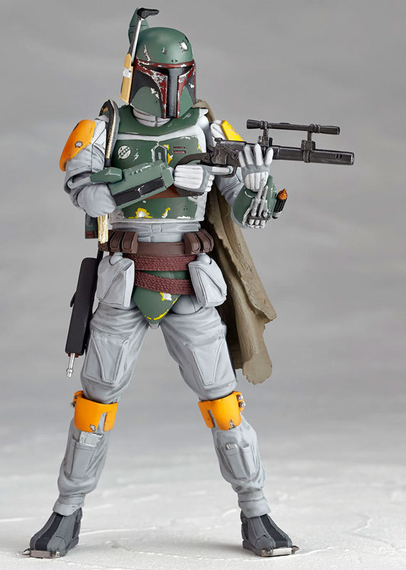Classic Movie Star Wars Revoltech The Bounty Hunter Boba Fett Action Figures Collection Model Toy Doll 15cm<br><br>Aliexpress