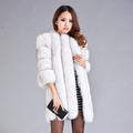 Free Shipping DHL EMS Fashion Style Real Fur Coat For Women Luxury Fur Coats Winter Natural