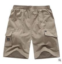 Mens Cargo Shorts Casual Multi Pocket Summer Man Short Pants Military Big Size 4XL-6XL 016 Brand Cotton Loose Shorts Men Wicking