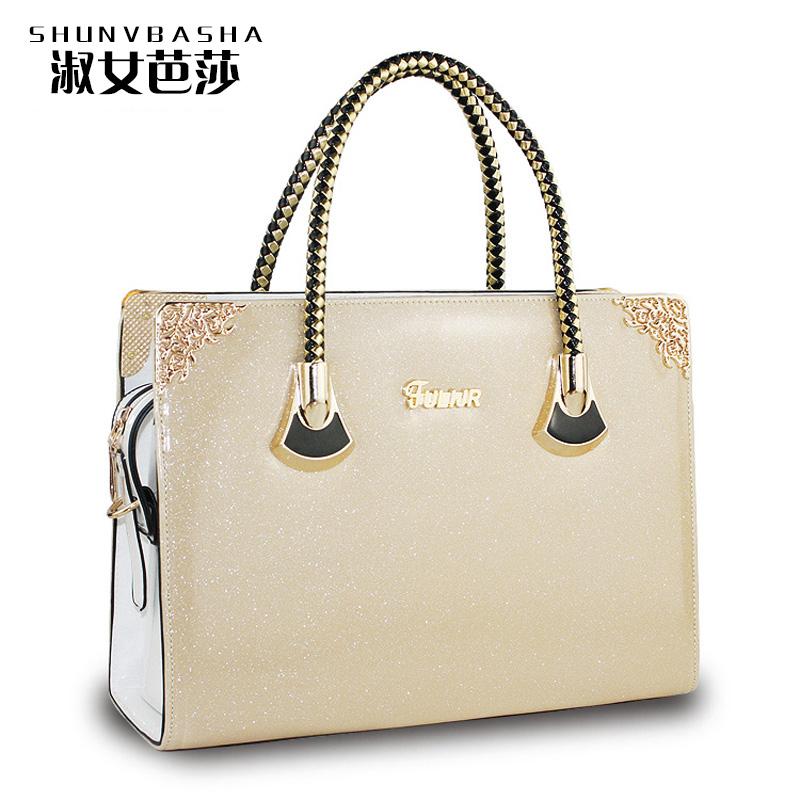 High Quality Women Messenger Bags Designer Handbags Four Color Vintage Bag PU Leather Famous Brand Tote Shoulder Ladies HandBag(China (Mainland))
