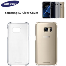 Original Clear Cover Protective Phone Case EF-QG930 for Samsung Galaxy S7 S6 S6 edge plus Note 5 Ultra Slim Back Case(China (Mainland))