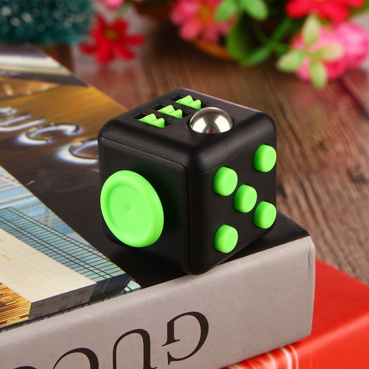 Antistress Toy of 3.3CM Fidget Cube Toys for Girl Boys Magic Cube 3x3x3 Gift The First Batch of The Sale Best Gift With Box(China (Mainland))