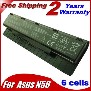 6Cells Laptop Battery For Asus A31-N56 A32-N56 A33-N56 N46 N56 N76 F55 N46V N76V B53V B53A F45A F45U 4400MAH