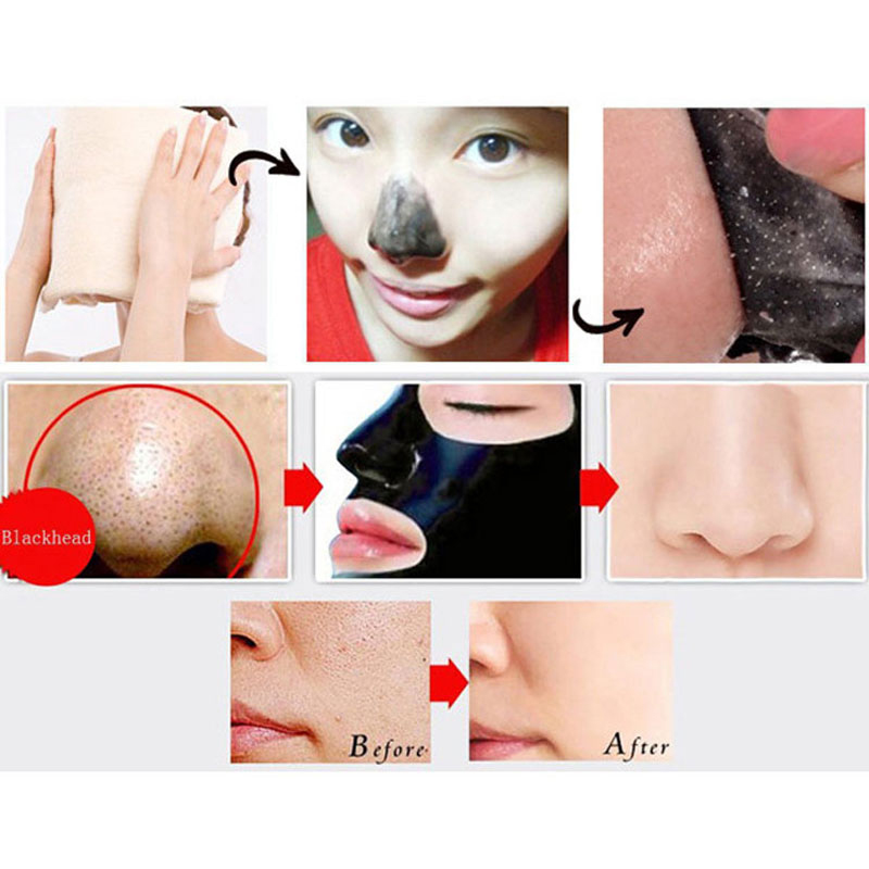 10PCS /lot Mineral Mud Nose Cleansing Blackhead Removal Pore Strip Cleanser Membranes Black Face Mask Black Head Cosmetics Acne(China (Mainland))
