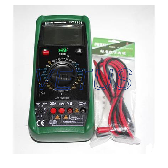 DY2101 Autoranging mini digital multimeter<br><br>Aliexpress