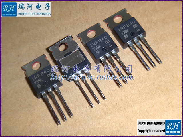 ,IRF840,IRF840PBF,5, Power MOSFET, new original 100%, fast delivery! - RUIHE ELECTRONICS (HK store CO., LIMITED)