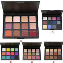 Attractive Scenery Brand 12 Color Eyeshadow Palette Eye Shadow Make up Palette Set Cosmetics 5 Model(China (Mainland))
