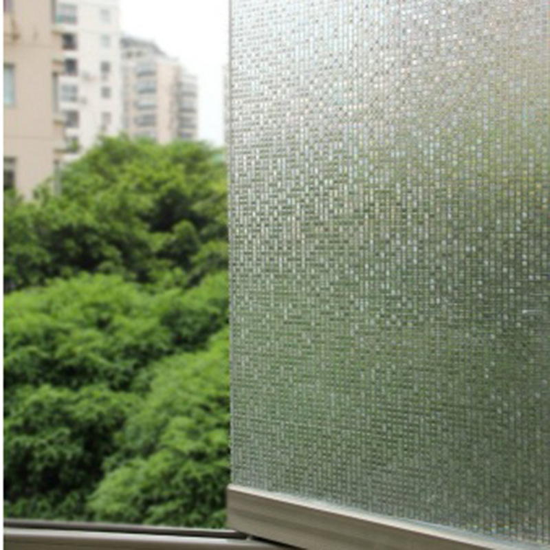 Cut Glass window film Mini Mosaic Tile Decorative Window Film for frosted, static window cling film Home Decoration(China (Mainland))