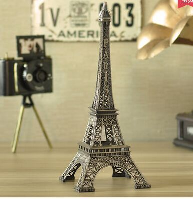 Paris Eiffel Tower model Home Furnishing Decor furnishings creative fashion of modern arts and crafts desk ornaments(China (Mainland))