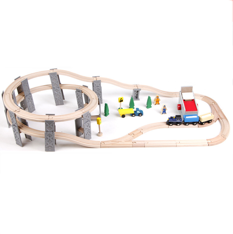 Diecasts Toy Vehicles Kids Toys Model Cars electric puzzle Building slot track Rail transit 55pcs(China (Mainland))