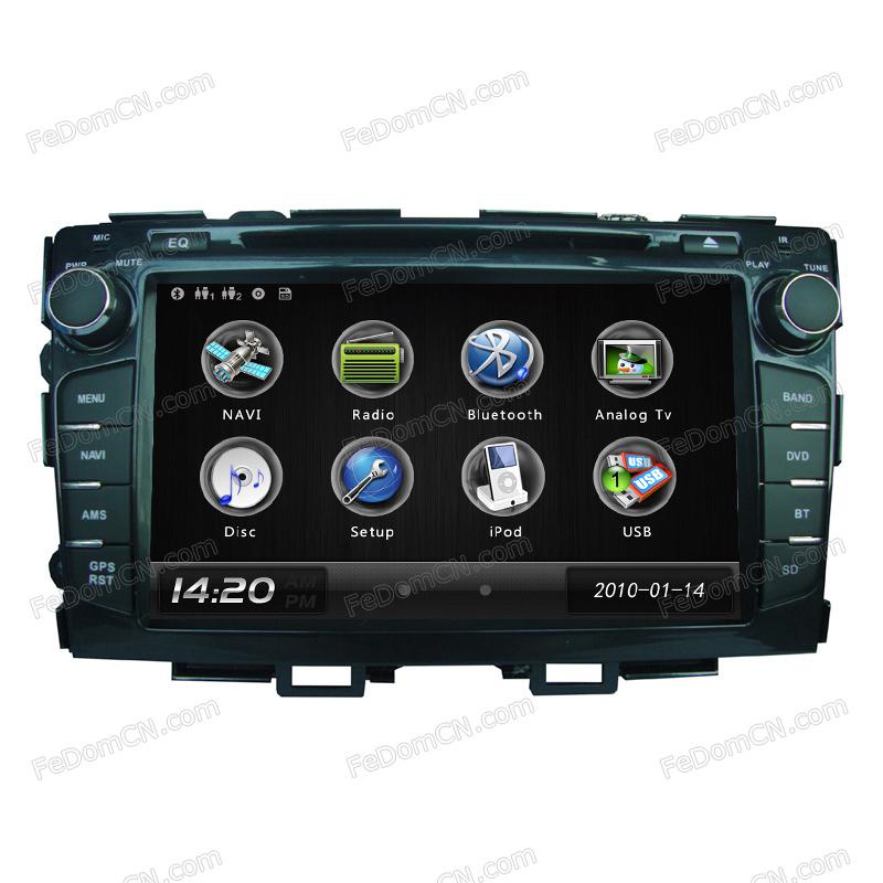 0602 steering-wheel car audio 2 din mp3 player For Honda Crider radio(China (Mainland))