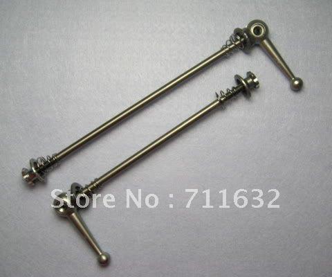 2 Pair Lightest Hubs Titanium quick release Skewer QR MTB bick release/bicycle 50g - LANCHELLE HK CO., LTD store