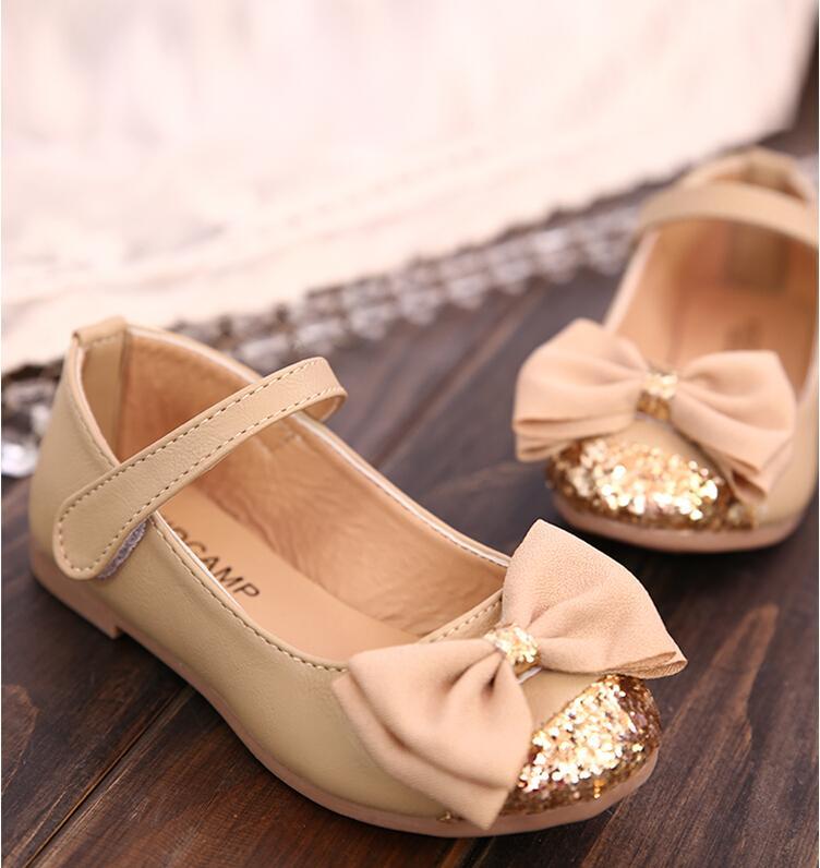 Fashion Designer Leather Children Sneaker Princess Girl Shoes Kids Sandals Discount (13-18.5cm) chaussure enfant - Online Shop NO.1 store