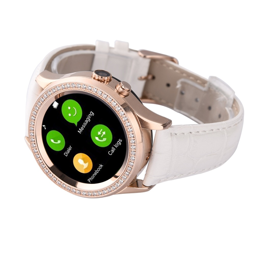 Rose gold watch for women guess