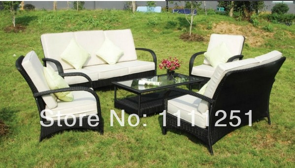 All Weather Outdoor Rattan Furniture Sofa Set(China (Mainland))