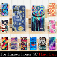 For Huawei honor 4C Case Hard Plastic Cellphone Mask Case Protective Cover Housing Skin Mask Shipping Free