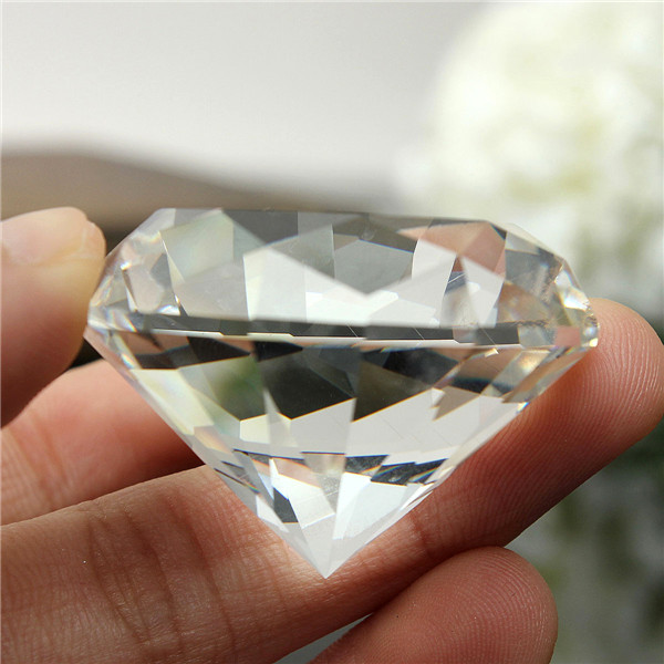 Clear Crystal 30mmx40mm For Home Decoration Car ornaments Gifts(China (Mainland))