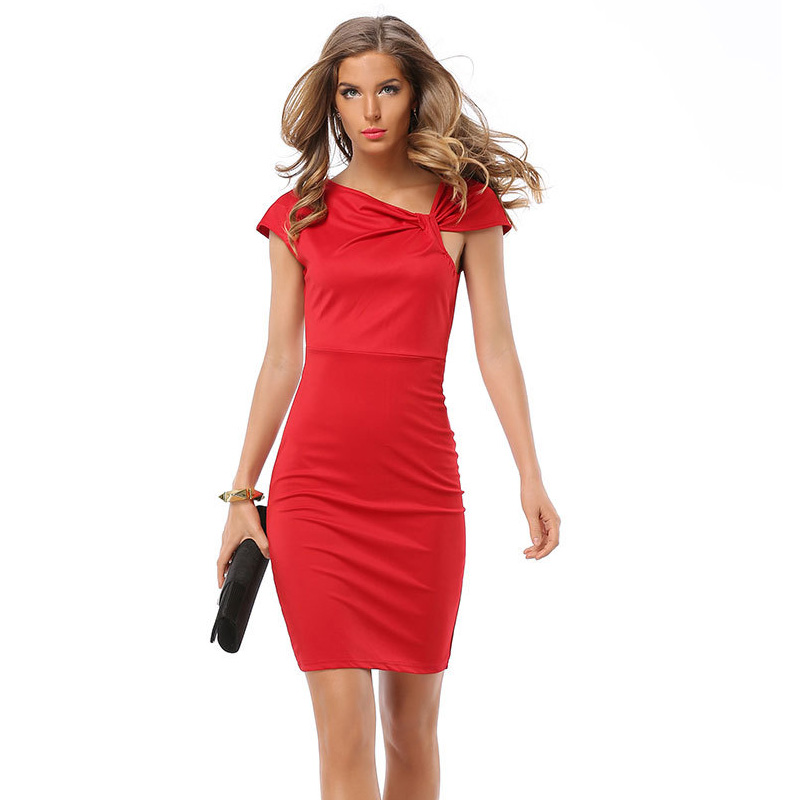 Dress party Dresses vestidos sexy vestido Curto cheap Clothes China Fashion De Festa women robe Femme sleeveless plus Size Warp(China (Mainland))