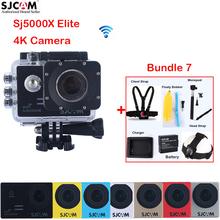 SJCAM Sj5000 Series SJ5000X Elite 2.0″ WiFi NTK96660 Mini 30M Waterproof Sports Action Camera Sj Cam DVR + Various Accessories