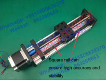 Buy High Precision GX80 Ballscrew 1610 600mm Effective Travel Linear Guide + 57 Nema 23 Stepper Motor CNC Stage Motion Moulde Linear for $198.00 in AliExpress store