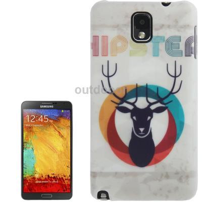Гаджет  2pcs/a lot Hipster Deer Pattern Plastic Case for Samsung Galaxy Note III N9000 None Изготовление под заказ