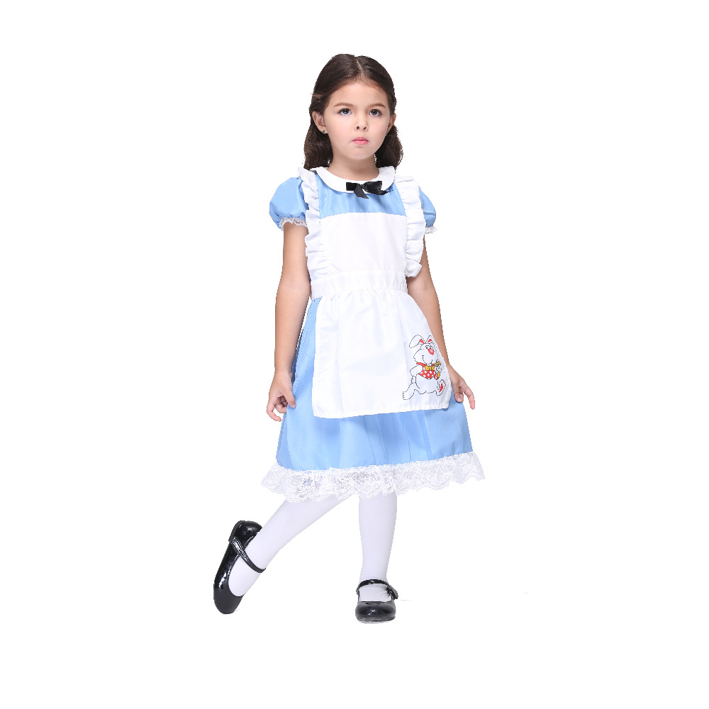 White apron costume