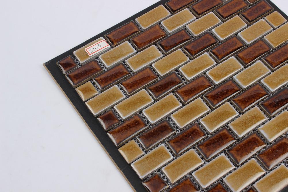 Piastrelle bagno mosaico marrone stunning il with mosaico - Striscia di mosaico in bagno ...