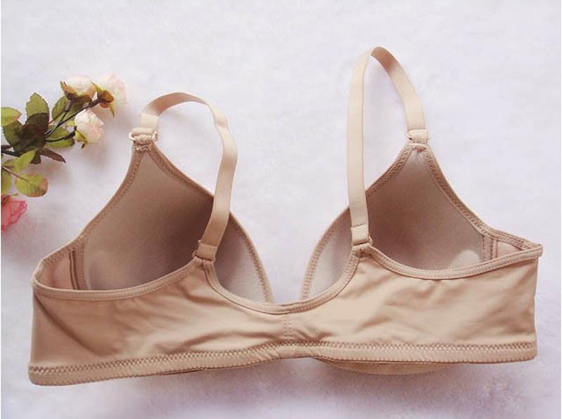 BORRUICE 2016 Brand Women Underwear Brassiere Sutian Sexy Casual Seamless Bra Front Buckle No Rims Sujetadores
