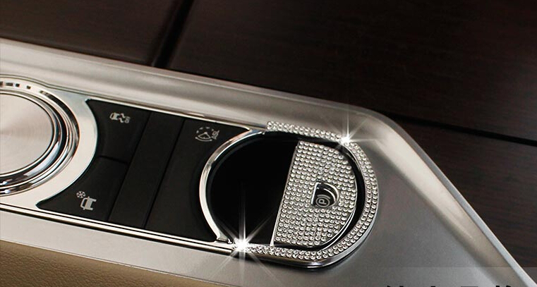 Electronic Hand Brake Cover Trim For Jaguar XF XJI Accessories<br><br>Aliexpress