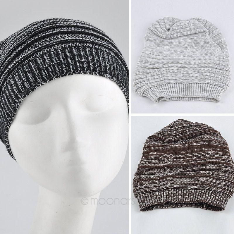 Fashion NEW Unisex Knit Baggy Beanie Hat Winter Warm Oversized Ski Cap #10(China (Mainland))