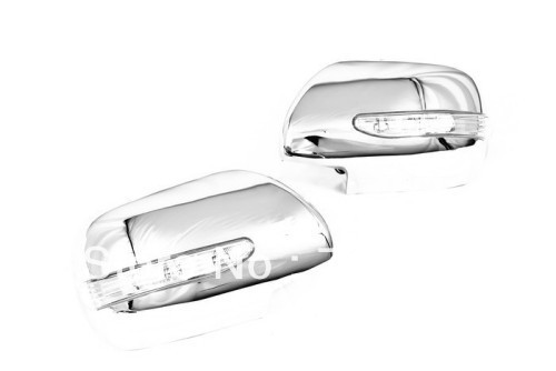 Chrome Side Mirror Cover w/LED For Toyota Sienna 2004-2010<br><br>Aliexpress