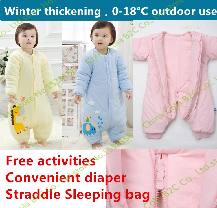 1pc The wholesale price for 65-100cm baby new frozen princess baby clothing sets Fifteen years of Sleep sacks normal products(China (Mainland))