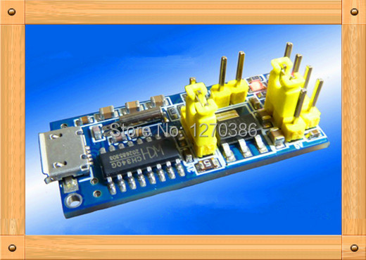 Free Shipping!!! 5pcs USB to TTL Serial band / 5V 3.3V Output / Support STC download(China (Mainland))
